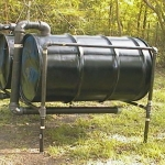 55 Gallon Drum Retort